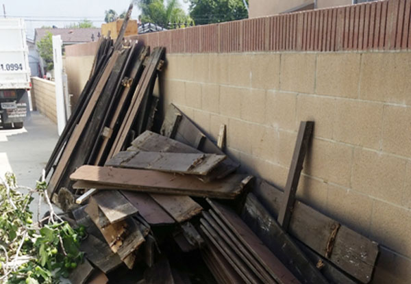 Construction waste & junk removal, Alhambra