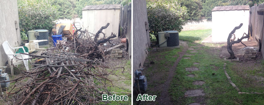 yard waste disposal and hauling, Alhambra