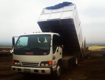 Construction Material Hauling Furniture Hauling Service